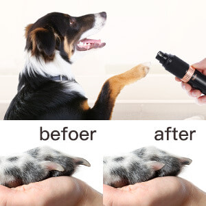 Noise-Free Electric Cat/Dog Nail Grinder for Effortless Clipping/Grinding