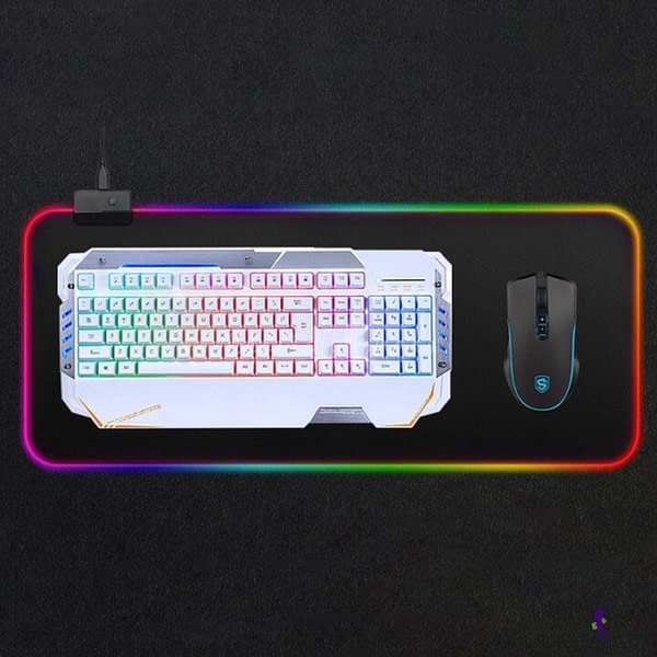 Huge LED Mouse Pad with Speaker