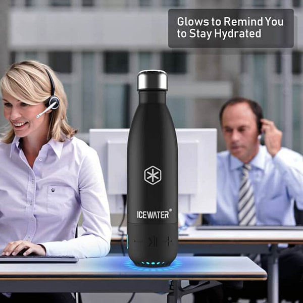 Water Bottle That Glows to Remind You to Stay Hydrated