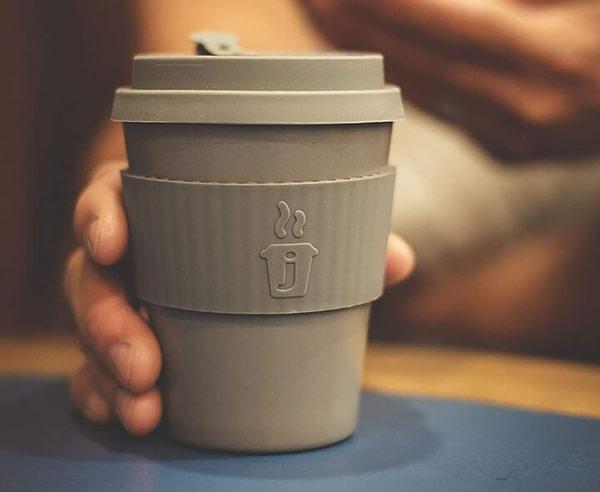 Bamboo Based Coffee Mug