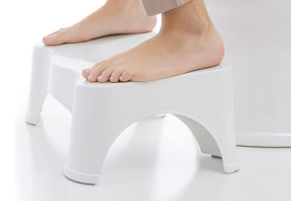 Toilet Stool to Make Excretion Faster and Easier