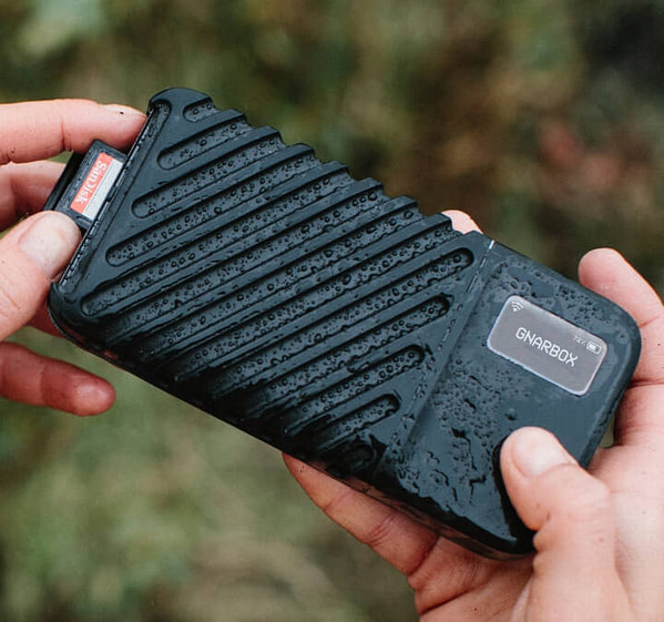 gnarbox 2.0 portable ssd for photographers