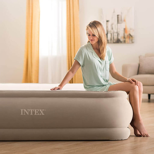 Easy Inflate Air Mattress with USB Charging Port