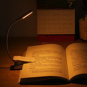 Blue Light Blocking Book Light to Reduce Eye Strain When Reading