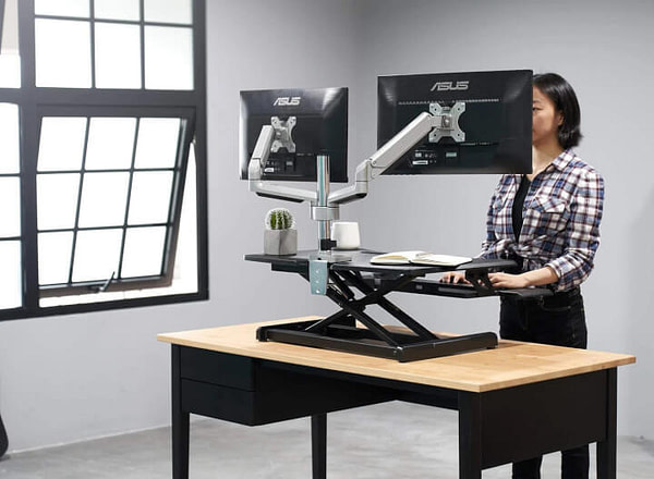 Standing Desk with Height Adjustable
