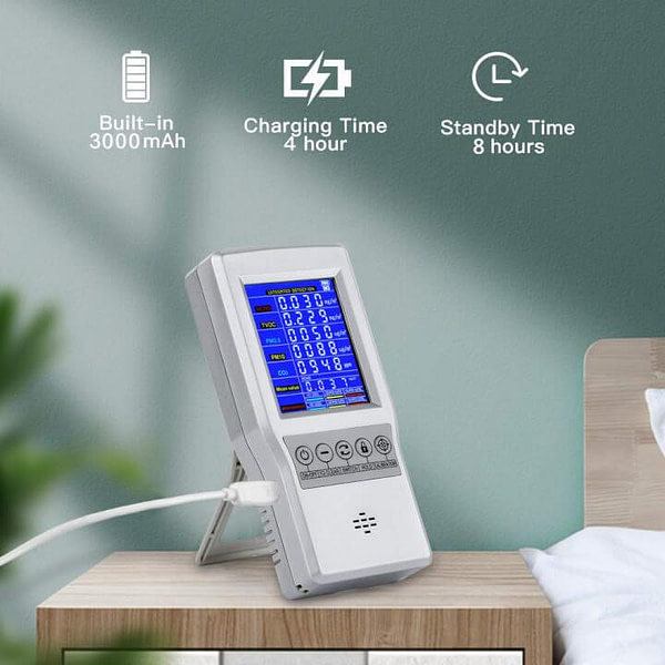 Complete & Portable Air Quality Monitor