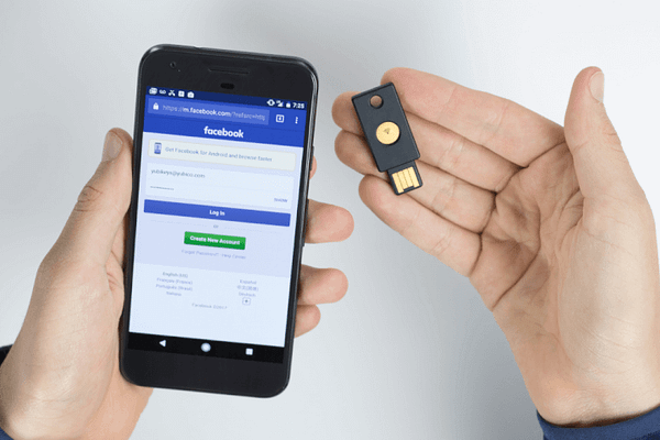 USB Two-Factor Authentication