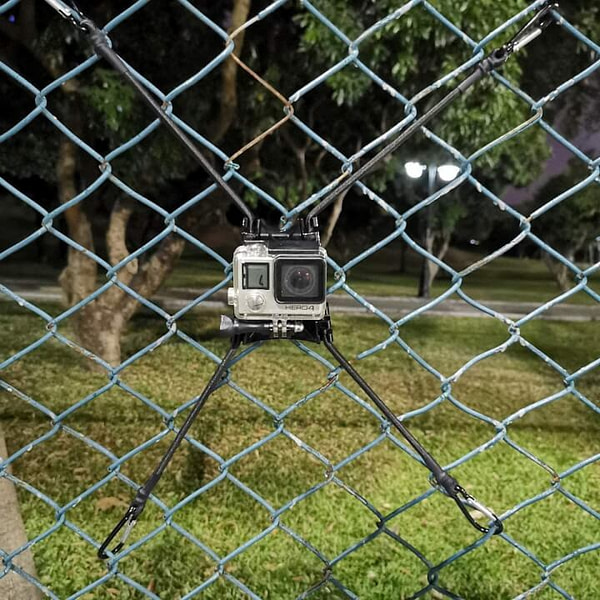 Chain-Link Fence Mount for GoPro
