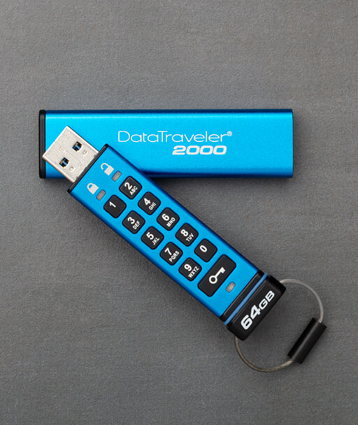 Flash Drive with Password-Protected Keypad