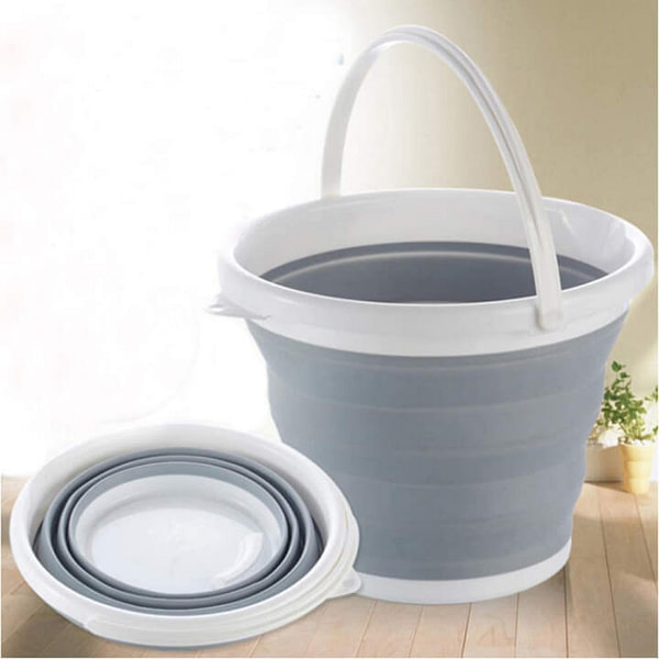 Foldable Collapsible Bucket, Significantly Save Space