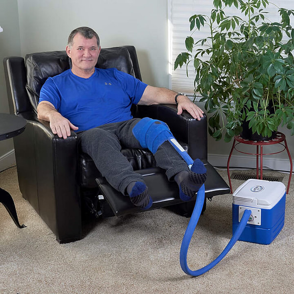 Knee & Joint Pad Cold Therapy for Knee/Joint-Related Post-Surgery Pain