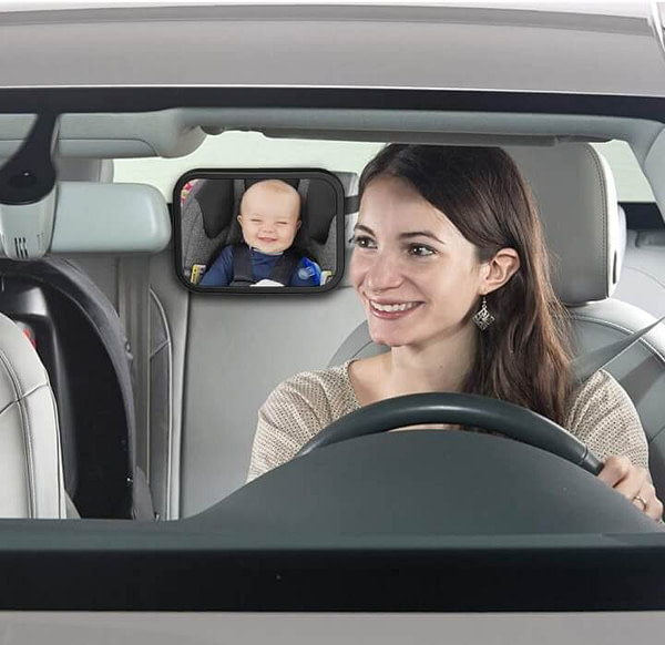 Baby Car Mirror to See Your Baby in Back Seat without Turning Your Head
