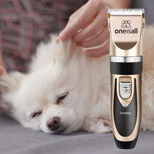 Electric Quiet Dog/Cat Shaver for Stress-Free Grooming