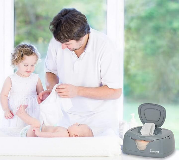Electric Wipe Warmer and Baby Wet Wipes Dispenser