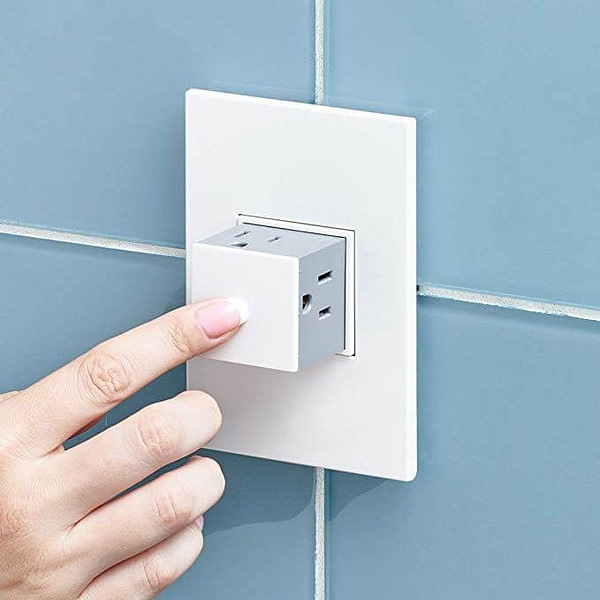Tamper-Resistant Outlets That Pop Out When You Use It
