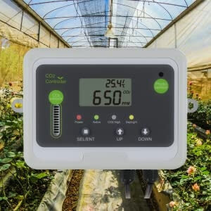 CO2 Monitor and Controller for Greenhouses