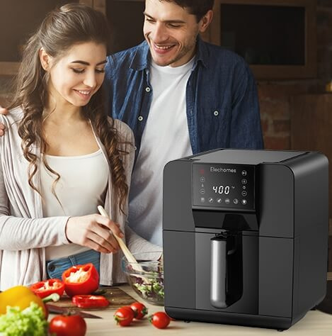 Oil-Free Electric Oven for Healthier Fried Foods