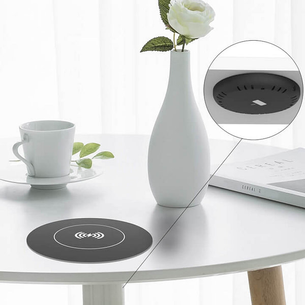 Invisible Wireless Charger for Desk