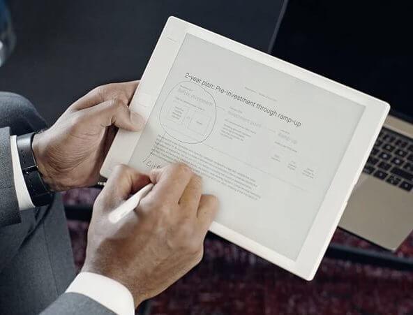 Digital Tablet that Feels Like Paper