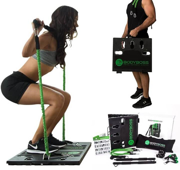 Fully Portable Gym Equipment in One 'Briefcase'