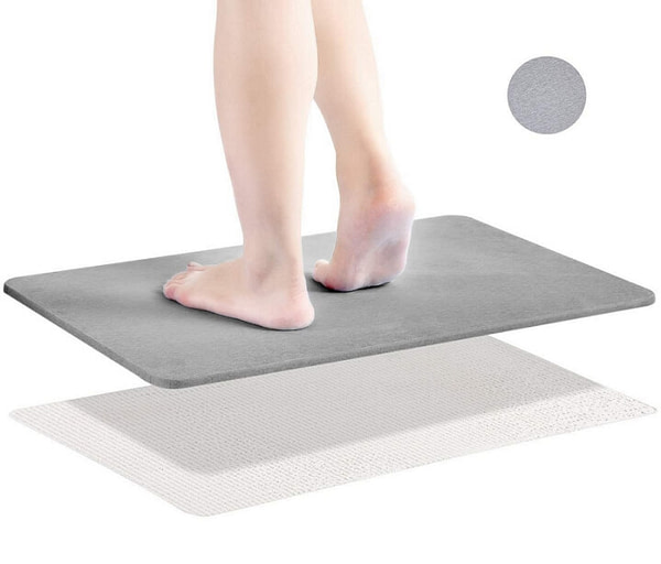 Super Absorbent Fast Drying Bath Mat