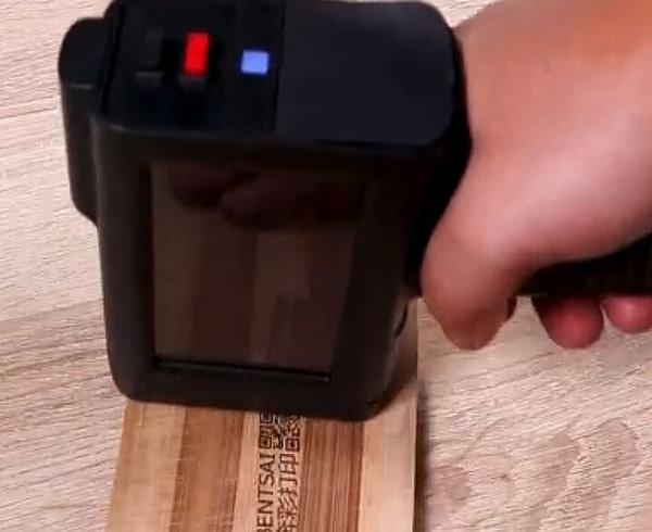 Bentsai Portable Handheld Printer on Any Surface