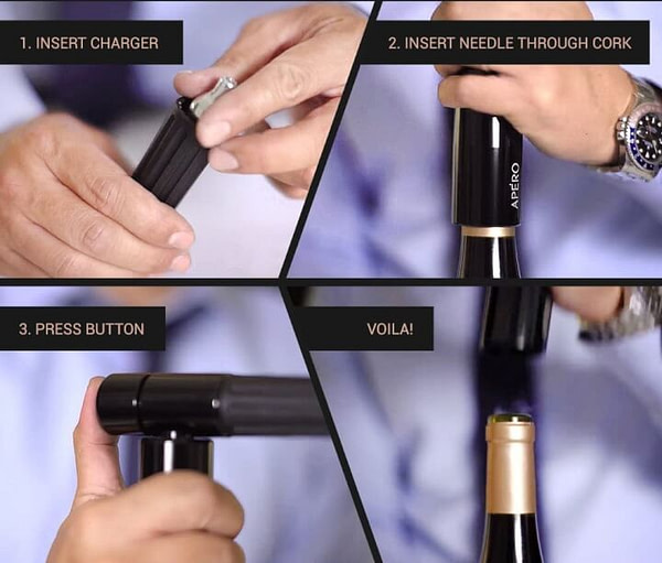 The World's Fastest Wine Opener
