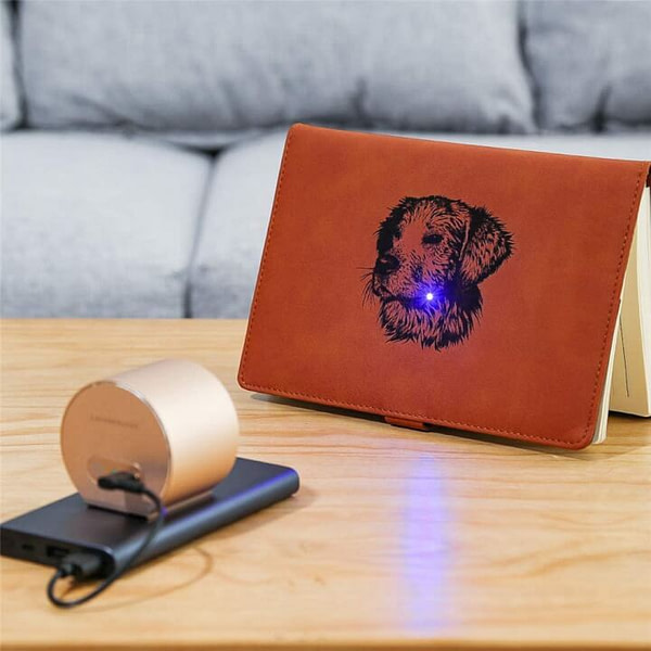 Mini Laser Engraver Machine to Create Art Craft