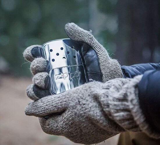 Small, Metal, & Odorless Hand Warmer