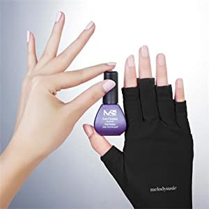 Gloves That Protect Hand from UV Light from Manicures or Sunlight