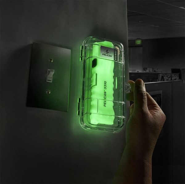 Auto Glow in the Dark Emergency Lighting