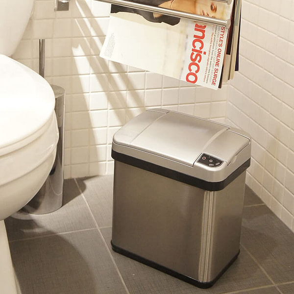 Automatic Trash Bin with Odor Filter