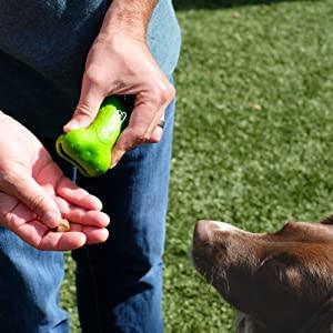 Bubble Dog Treat Pouch for Arthritis