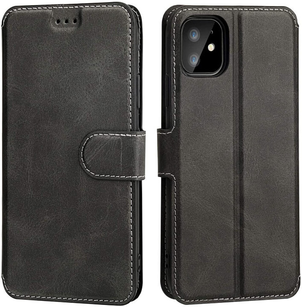 iPhone 11 Slim Flip Wallet Case with Card Holder