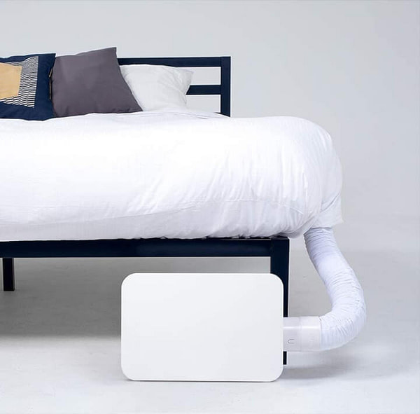 Cool/Warm Bed Fan for More Comfortable Sleep